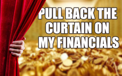 Pulling The Curtain On My Bank Account