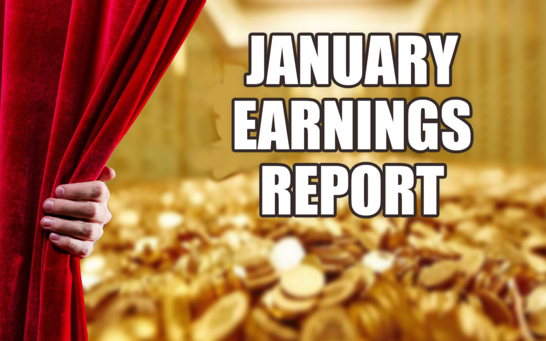 A Quest For $100,000 – January Earnings & Income Report
