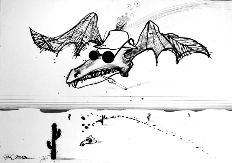 Read more about the article Ralph Steadman on Taboo
